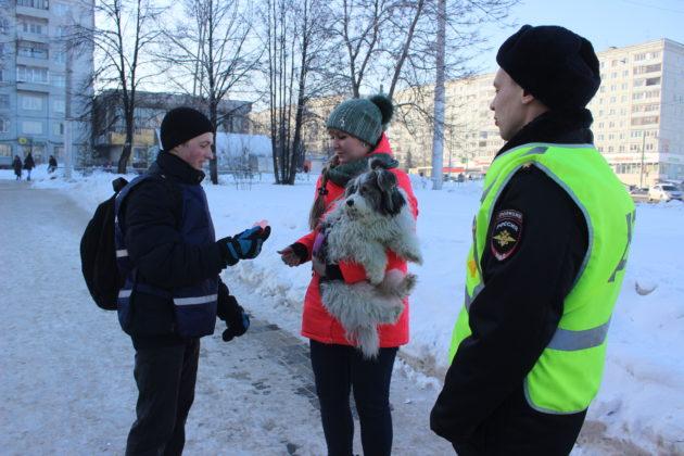 Кемеровчане получили «валентинки безопасности»