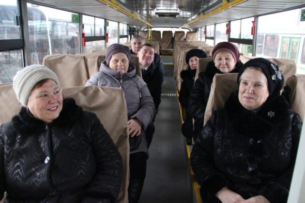 В Беловском районе на самый протяженный маршрут выпущен новый автобус