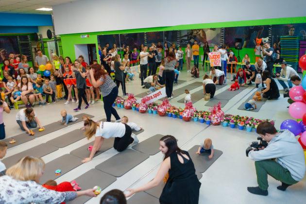 В Юрге соревновались спортсмены в подгузниках