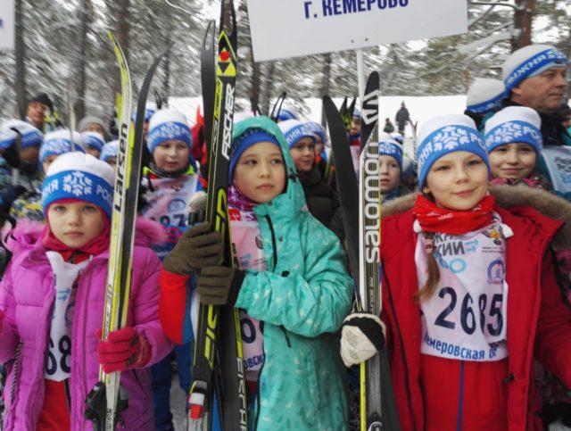 В Кемерове состоялись забеги в рамках Всероссийской акции «Лыжня России-2020»