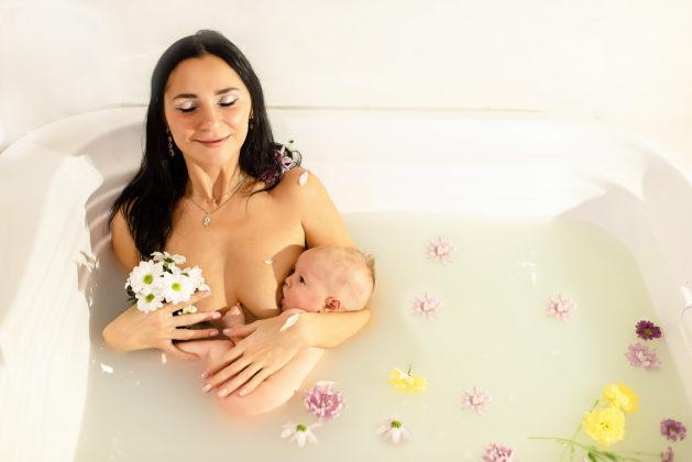 Фотограф из Кемерова запустила проект, посвященный теме счастливого материнства