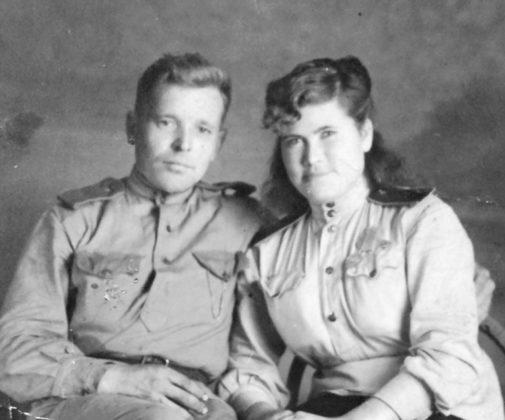 «Поженились мы в конце войны»