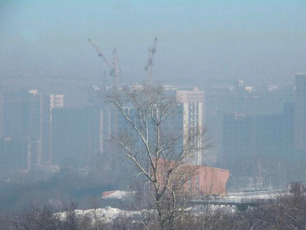 В Роспотребнадзоре рассказали о загрязнении воздуха в Кемерове 16 февраля
