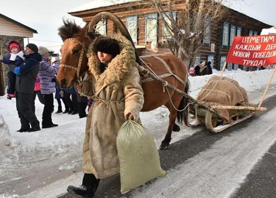 Из Томской области в Кузбасс стартовал «Красный обоз»