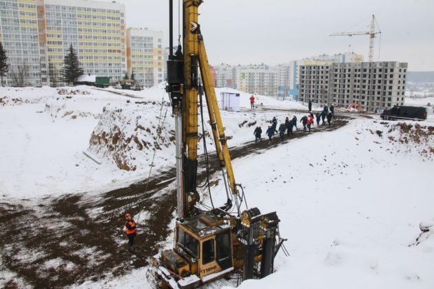 В Кемерово-Сити началось строительство школы на 1225 учеников