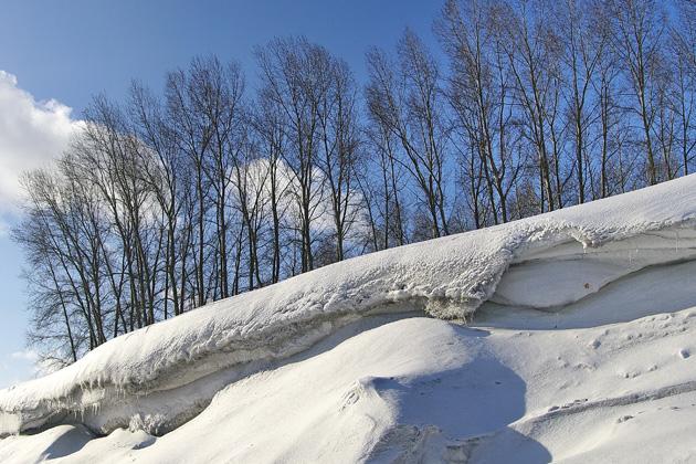 Теплый февраль в Кузбассе может привестти к серьезному паводку
