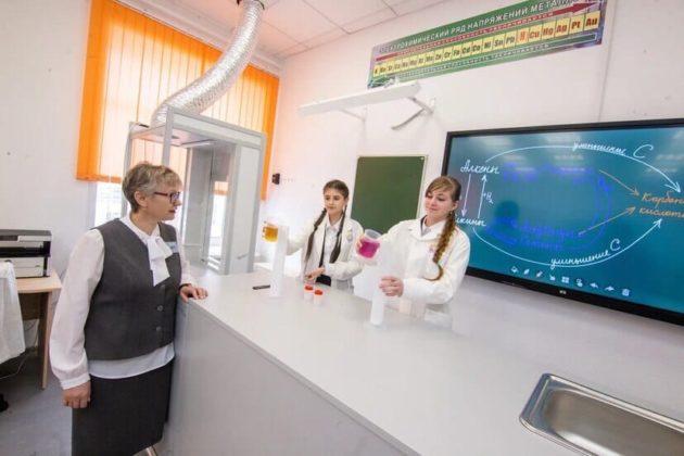 В Мариинске после капитального ремонта открылась школа №6