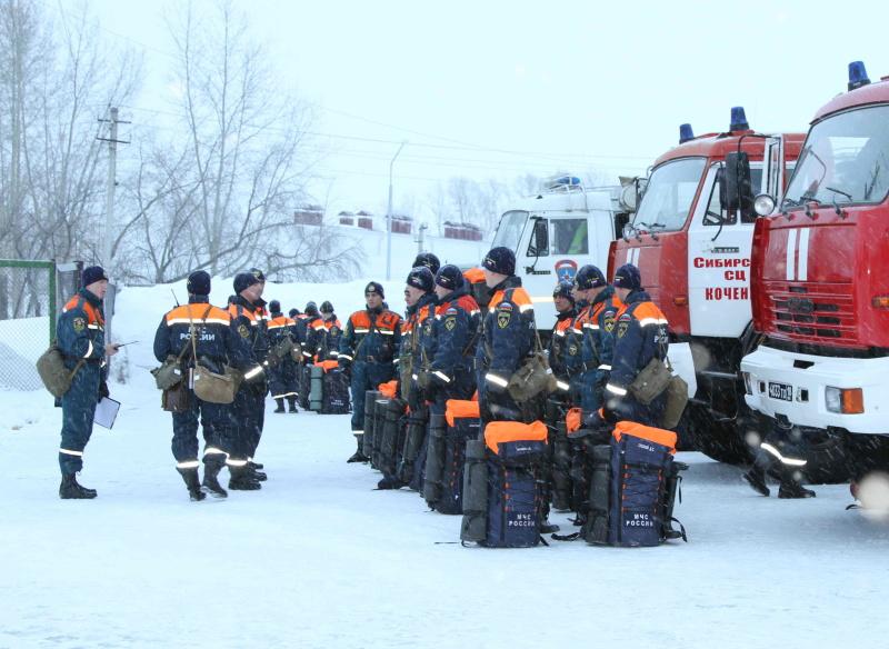 Сибирские спасатели готовятся к периодам паводков и природных пожаров
