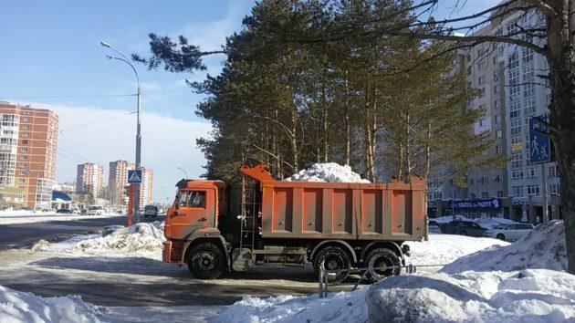 За сутки из населенных пунктов Кузбасса вывезли 44 тысячи кубометров снега