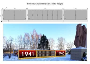 В нынешнем году капитально отремонтируют памятник в пгт Верх-Чебула