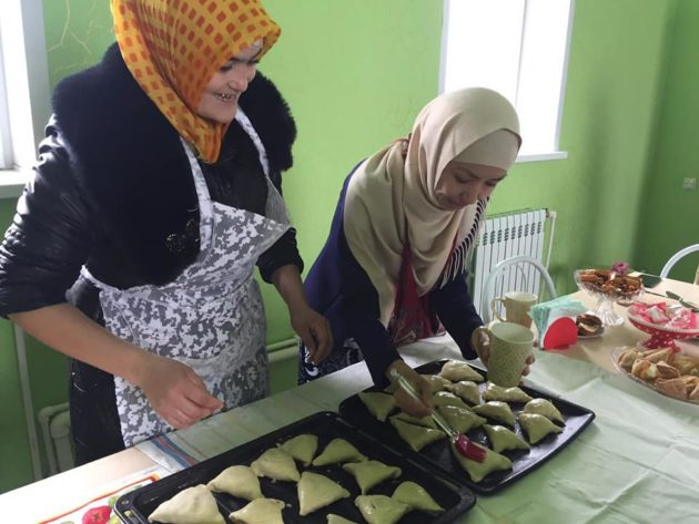 В деревне Юргинского округа открыли кулинарную сокровищницу