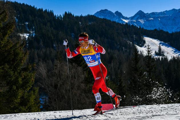 Кузбасский лыжник взял «бронзу» эстафеты на этапе Кубка мира