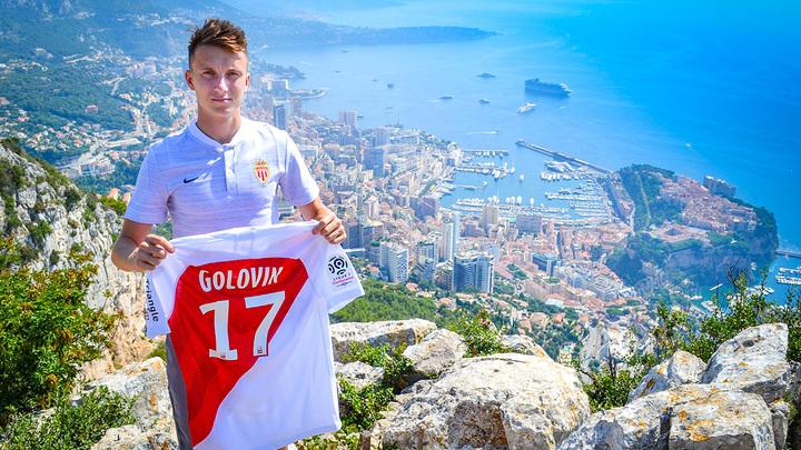 Уроженец Калтана Александр Головин продлил контракт с «Монако» до 2024 года