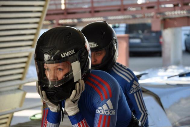 Кемеровская бобслеистка со своей напарницей защитила титул чемпионки России