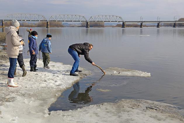 В Кузбассе ледоход начнется через две недели