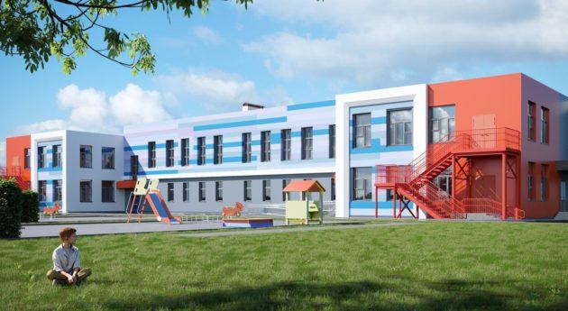 В Киселевске началось строительство детского сада с лифтом
