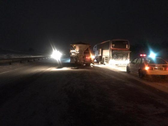Новосибирские туристы едва не провели ночь на кузбасской трассе