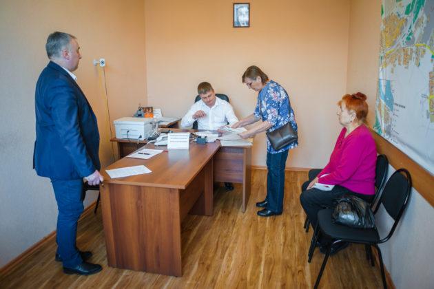 Жители Юрги попросили у главы скамейки