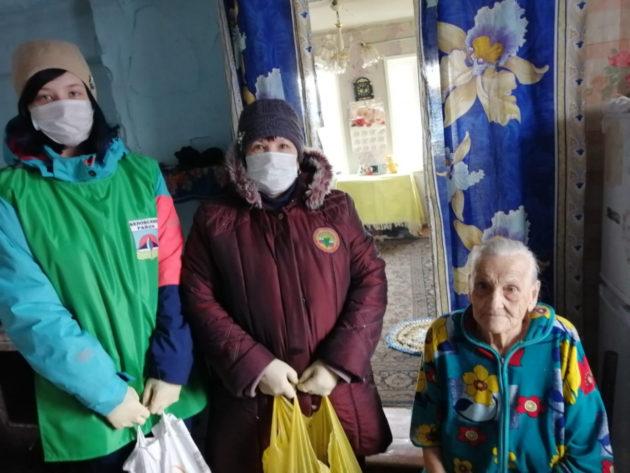 В Беловском районе добровольцы вызвались помочь пенсионерам