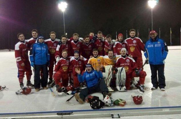 Кемеровский хоккеист в составе сборной России стал чемпионом первенства мира