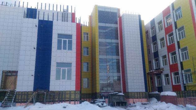 Новая школа в ж.р. Лесная поляна Кемерова отворит двери 1 сентября