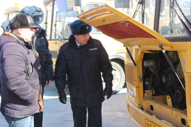 В Гурьевске проверили «школьные» автобусы