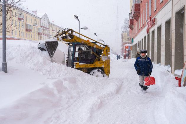 В Кузбассе за два дня выпало до 40 см снега