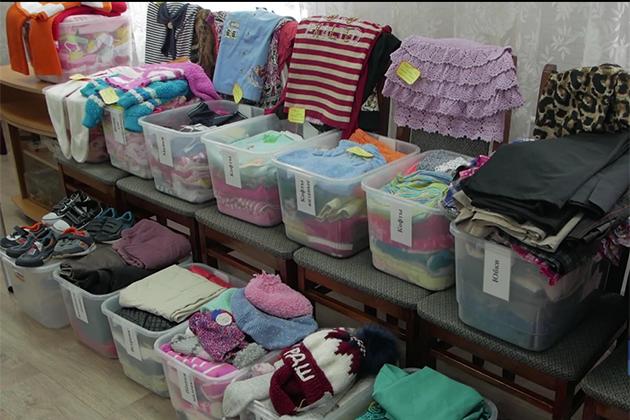 В Прокопьевске появился магазин с бесплатными вещами