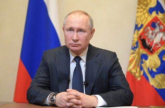 Владимир Путин вновь обратился к россиянам из-за коронавируса