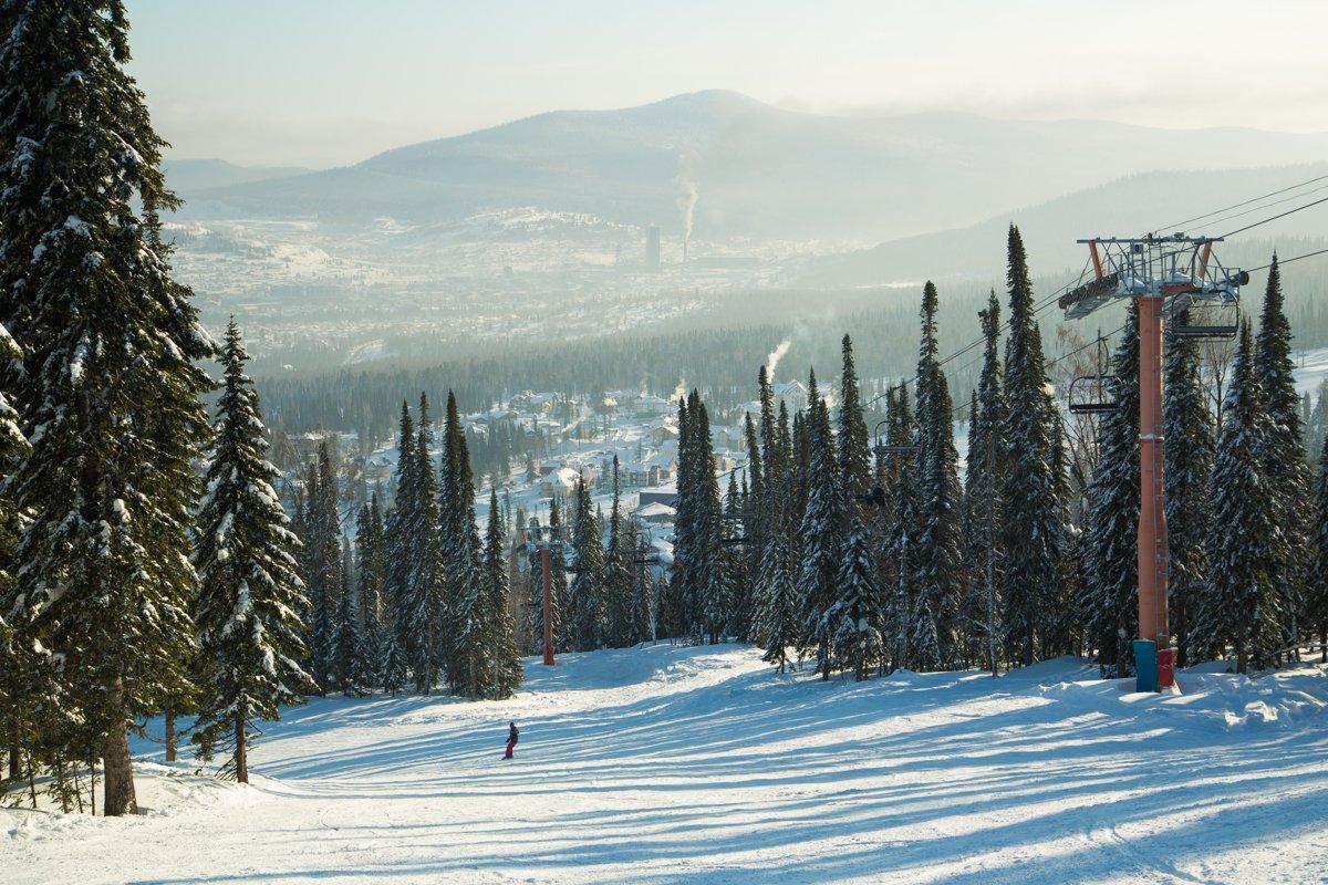В Шерегеше с начала сезона побывали более 1 млн туристов