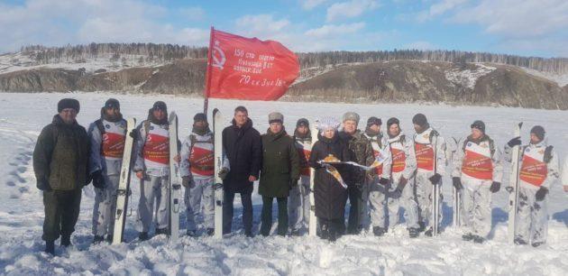 В Юрге встретили участников 100-дневного лыжного перехода