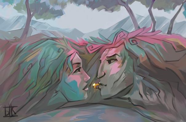 Известный шаман Горного Алтая и Кузбасса нашел в Германии «место силы», помогающее в любви