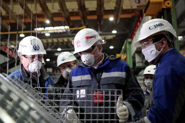 В Новокузнецке состоялось открытие двух новых заводов