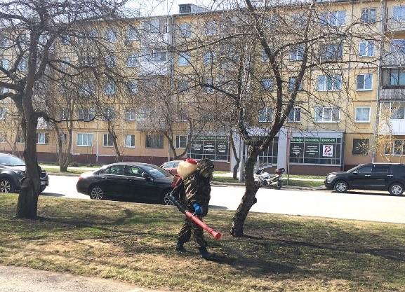В Кемерове проводится противоклещевая обработка парков
