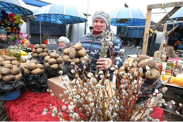 Кузбассовцы могут освятить вербы дома, трижды окропив святой водой и прочитав тропарь