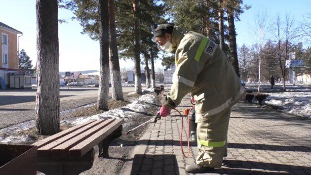 В Кузбассе начали выпускать технику для дезинфекции улиц