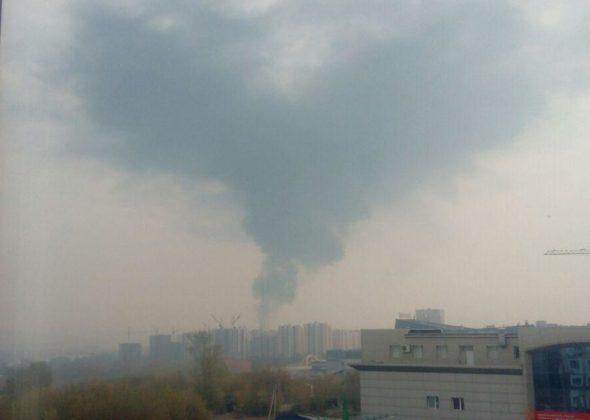 Названа причина пожара на территории Кемеровского кадетского училища