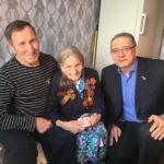 Жительнице Прокопьевска сегодня исполнилось 100 лет