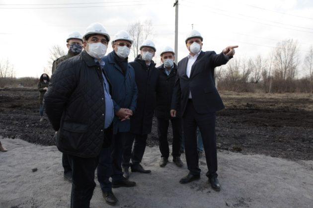 В Новокузнецке возведут новую инфекционную больницу в кратчайшие сроки