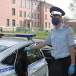 В Новокузнецке полицейские устроили погоню за мопедистом
