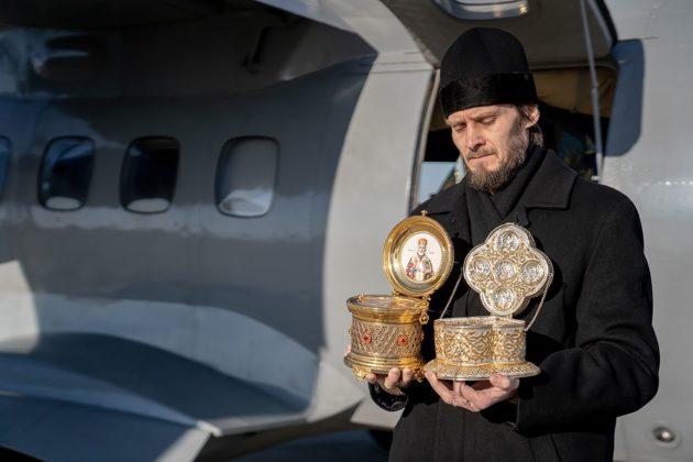 Прокопьевск, Анжеро-Судженск, Юрга, Белово — священнослужители с высоты окропили города Кузбасса святой водой