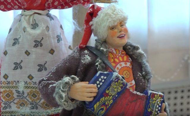 Выставку кукол кузбасских мастеров можно посмотреть онлайн