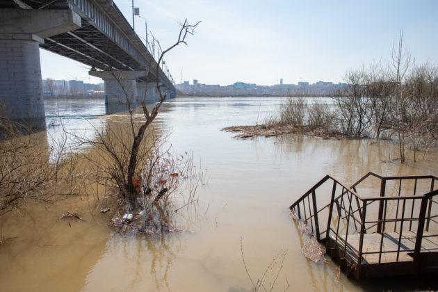 Паводок в Кузбассе проходит спокойно