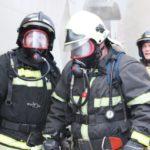 В Кемерове  спасли на пожаре трех человек
