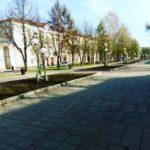 В центре Кемерова убрали скамейки