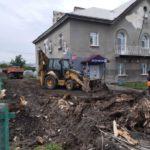 В Берёзовском приступили к благоустройству дворов