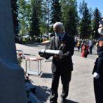 В Киселёвске в памятник «Мужеству посвящается» заложили капсулу времени