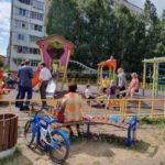 В Юрге установят 57 новых детских площадок