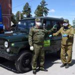 В Гурьевском лесничестве появился новый УАЗ «Хантер»
