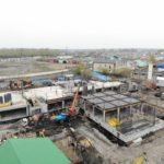 В Тайге продолжается строительство школы с бассейном